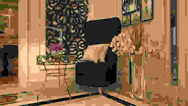 Villa living area: modern  by AL-TRASS CREATIONS DESIGN, Modern
