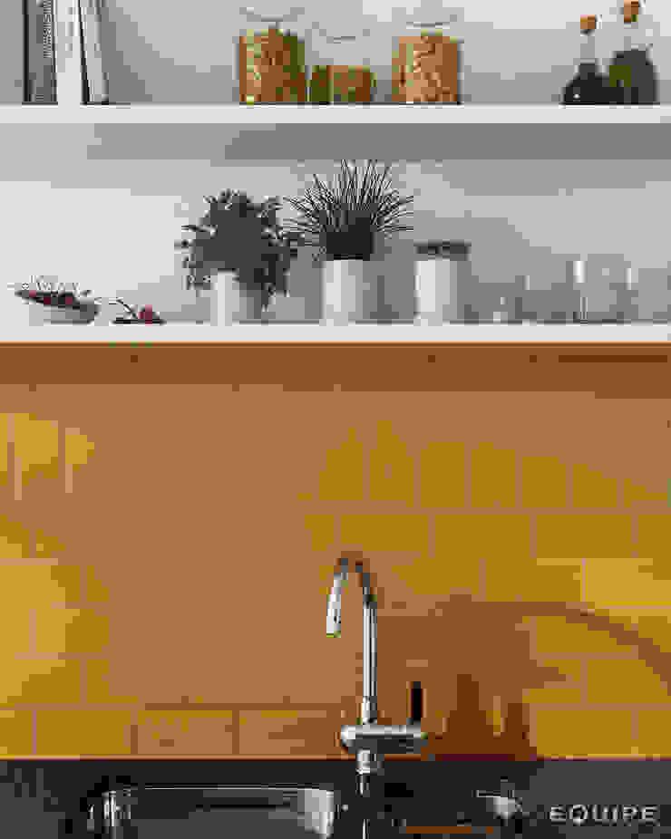 Evolution Amber 7,5 x 15 cm Cocinas de estilo moderno de Equipe Ceramicas Moderno Cerámico