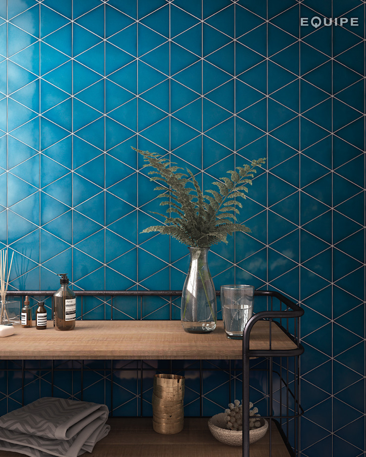 Scale Triangolo Comedores de estilo mediterráneo de Equipe Ceramicas Mediterráneo Cerámico