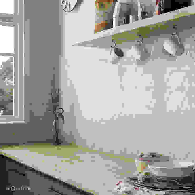 Scale Triangolo Cocinas de estilo mediterráneo de Equipe Ceramicas Mediterráneo Cerámico