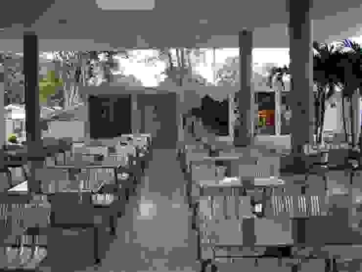 Cafeteria Incauca Comedores de estilo moderno de Metalmuebles Moderno