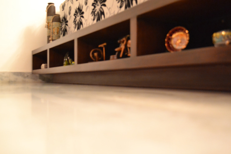 GK Residence. New Delhi Modern living room by mold design studio Modern