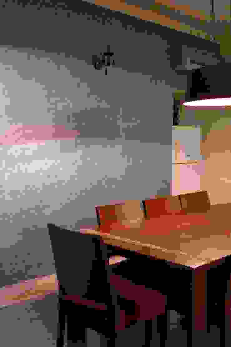 GK Residence. New Delhi Modern dining room by mold design studio Modern