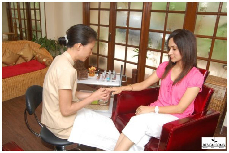 Nail Spa by Design Being Asian