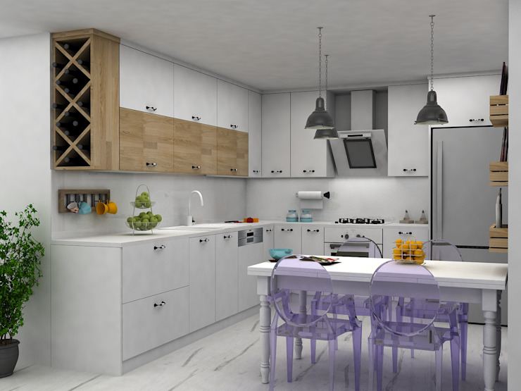 DİZAYNer® | Mutfak Built-in kitchens