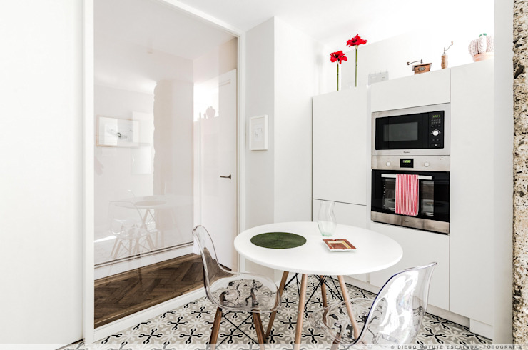 根據 TALLER VERTICAL Arquitectura + Interiorismo 現代風