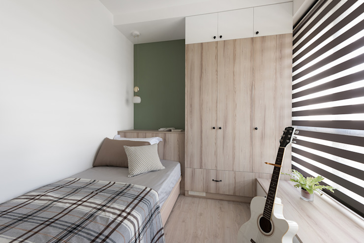 溫.沐光 寓子設計 臥室