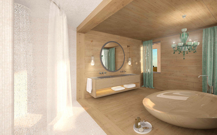 Country style bathroom by ARCHDUET&DA Country