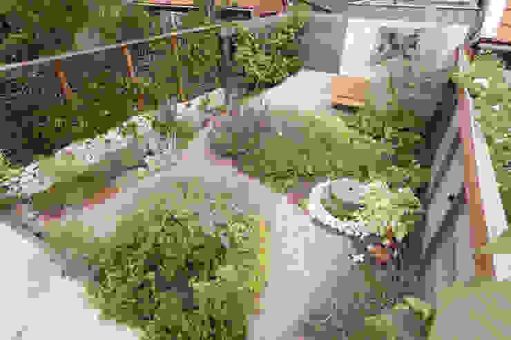 Mediterraanse stadstuin van Dutch Quality Gardens, Mocking Hoveniers