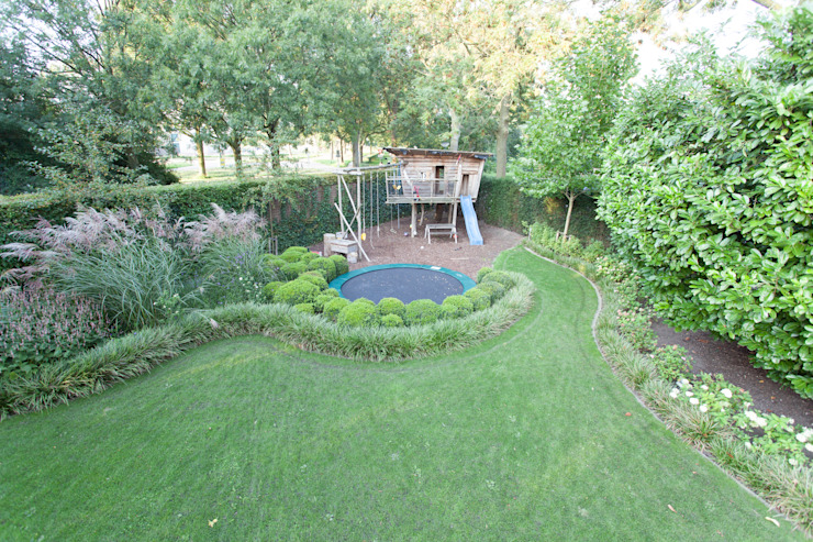 Grote leeftuin van Dutch Quality Gardens, Mocking Hoveniers