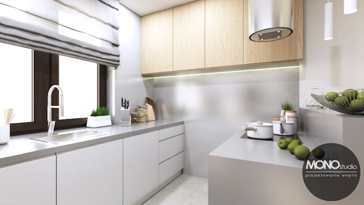 現代廚房設計點子、靈感&圖片 根據 MONOstudio 現代風