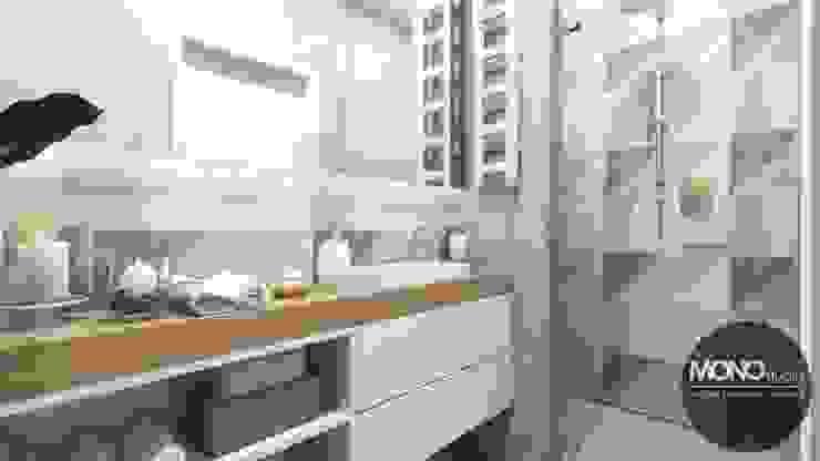 MONOstudio Modern style bathrooms