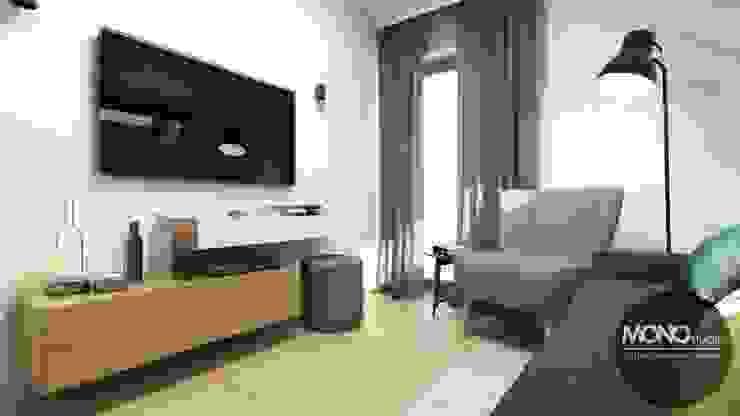 MONOstudio Modern style media rooms