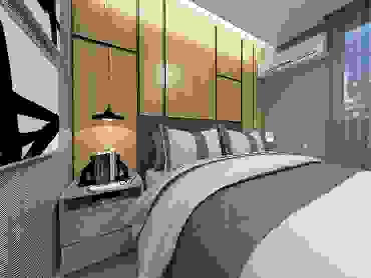 Bedroom by Letícia Saldanha Arquitetura