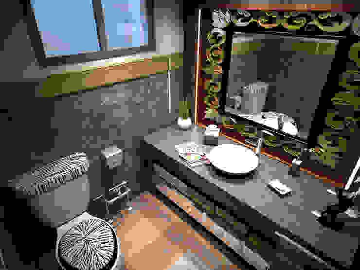 Guest Bathroom Modern Bathroom by Ravenor's Design Solutions Modern
