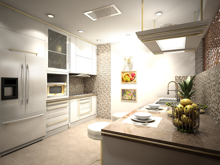 Closed Kitchen by Ravenor's Design Solutions Modern