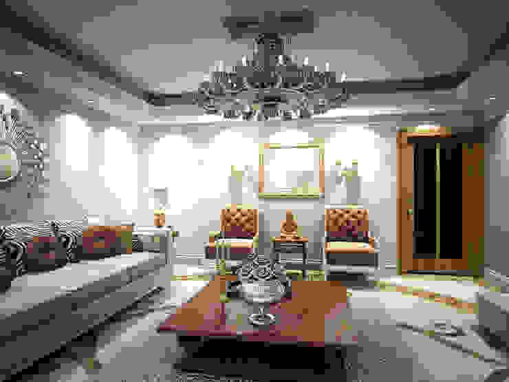 Guest Reception Modern Living Room by Ravenor's Design Solutions Modern