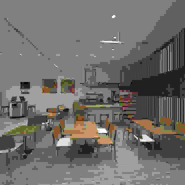 Cafe + Self Service by Ravenor's Design Solutions Scandinavian