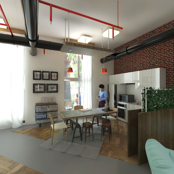 Mini Kitchen by Ravenor's Design Solutions Industrial