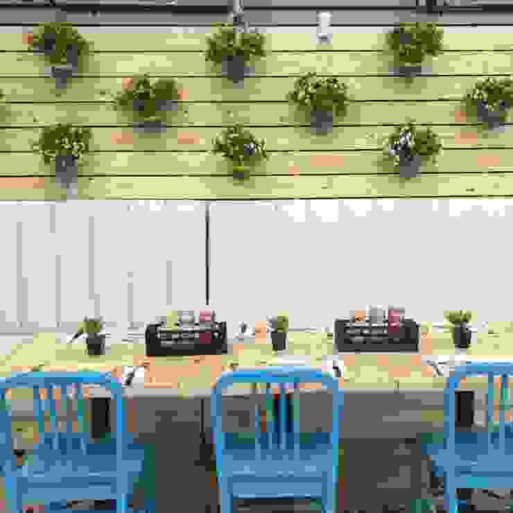 terraza de Ecologik Moderno Madera Acabado en madera