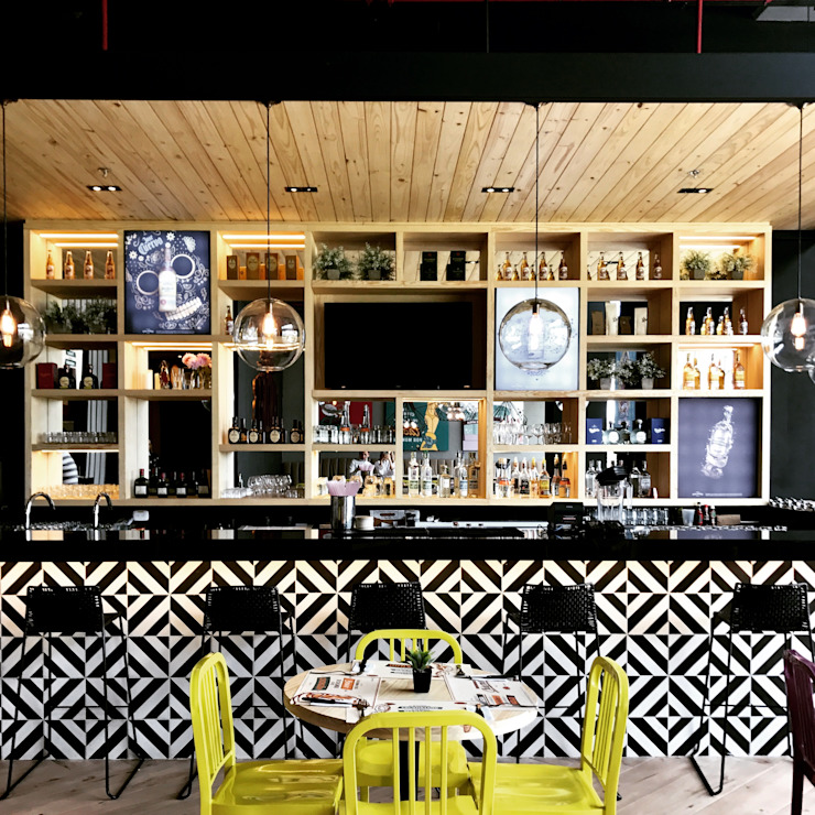 barra de bar de Ecologik Moderno Cerámico