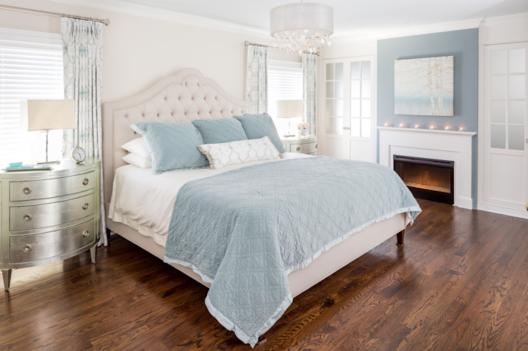 Tranquil Master Bedroom Frahm Interiors Classic style bedroom