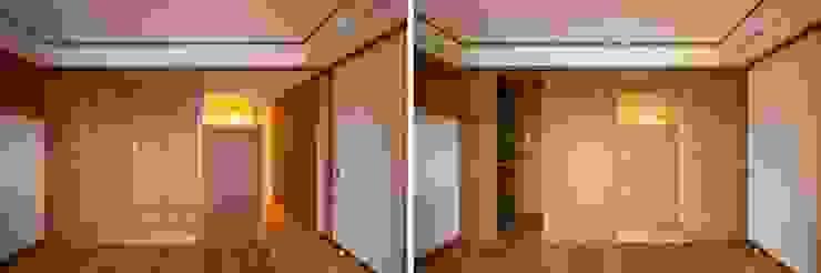 Modern style doors by 千田建築設計 Modern Wood Wood effect