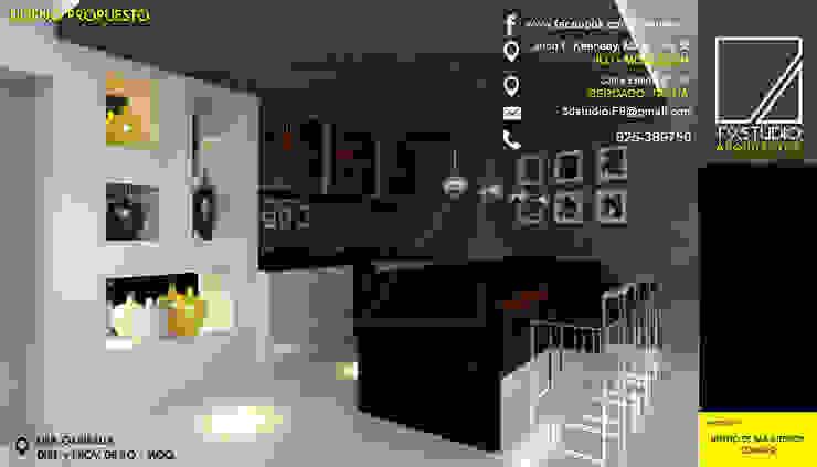 by F9.studio Arquitectos Minimalist Granite