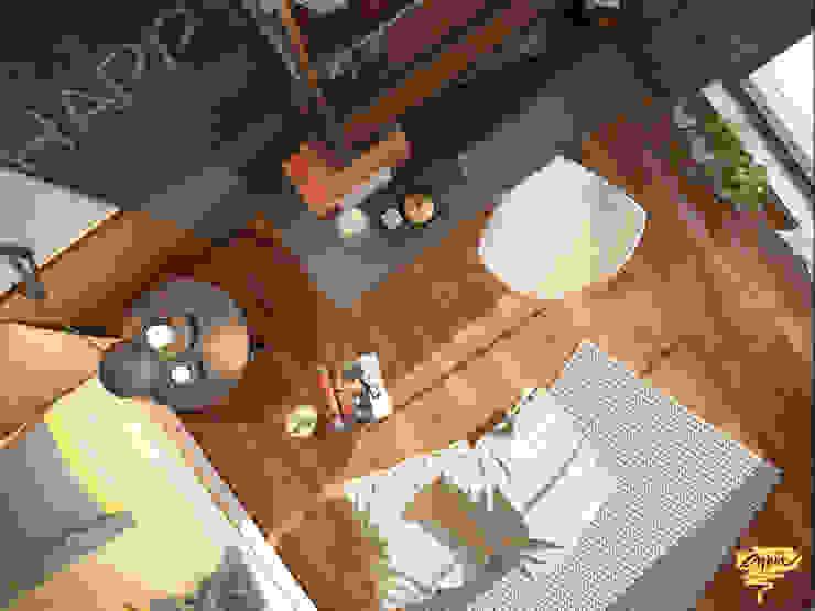 Özel projelendirme Modern Çalışma Odası Öykü İç Mimarlık Modern