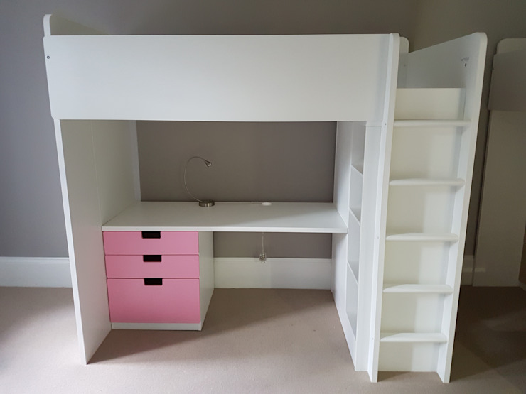 Children's Loft Bed Assembly de Flat Pack Assembly Moderno