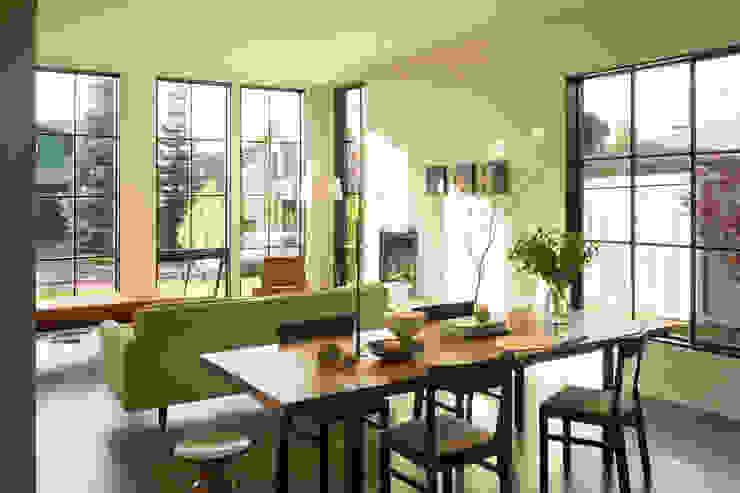 Magnolia House Rerucha Studio Modern Living Room