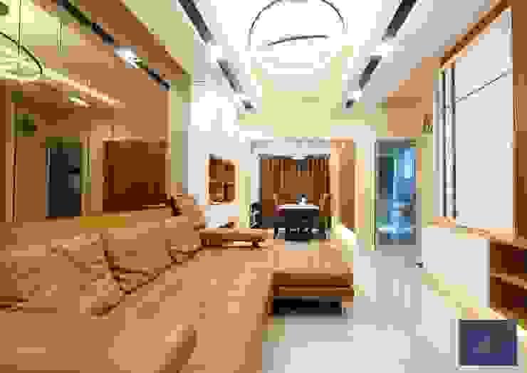 แปลงโฉมทาวน์โฮมธรรมดาให้อบอุ่น – โครงการ Vista Park พระราม5 โดย BAANSOOK Design & Living Co., Ltd.
