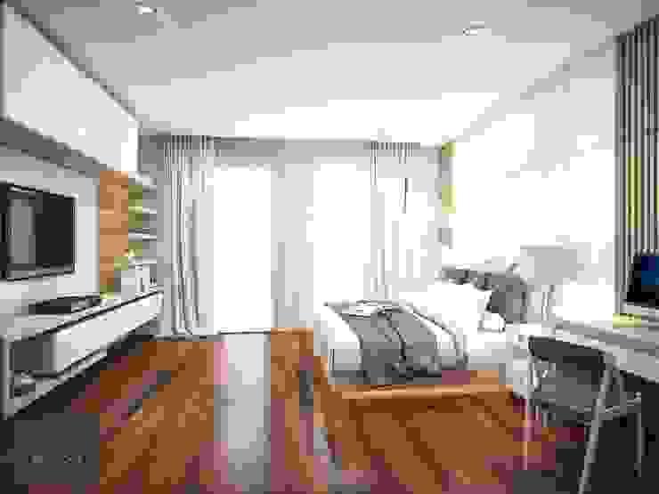 หมูบ้านมัณฑนา ราชพฤกษ์ สะพานมหาเจษฎาบดินทร์ฯ โดย BAANSOOK Design & Living Co., Ltd.