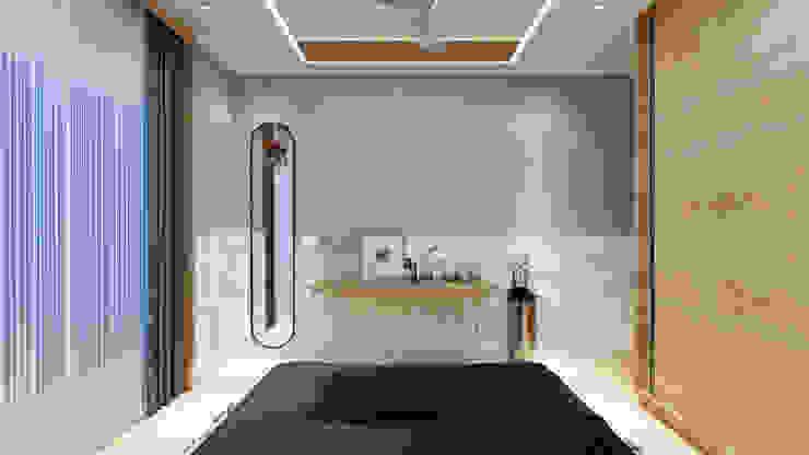 sonbedroom3 Minimalist bedroom by quite design Minimalist