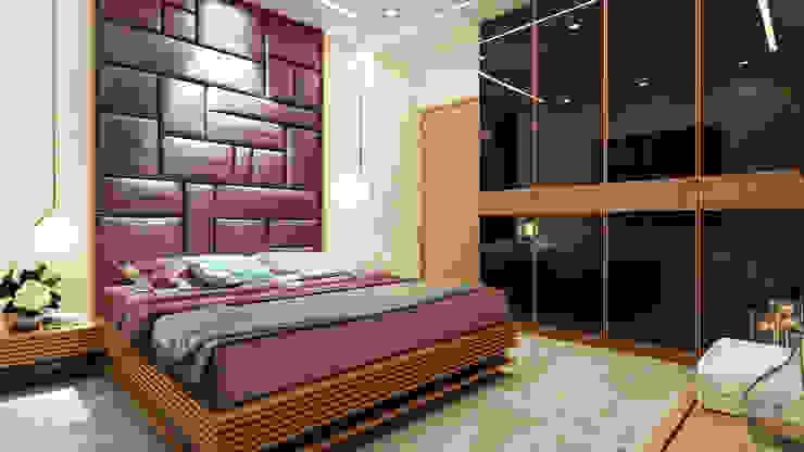 غرفة نوم تنفيذ quite design , تبسيطي