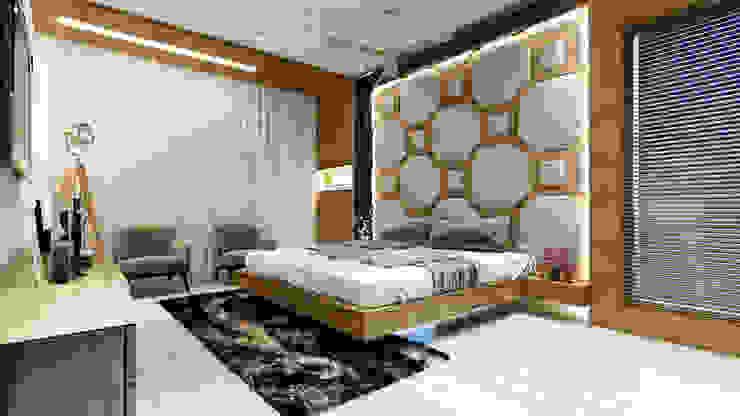 master room1 Minimalist bedroom by quite design Minimalist