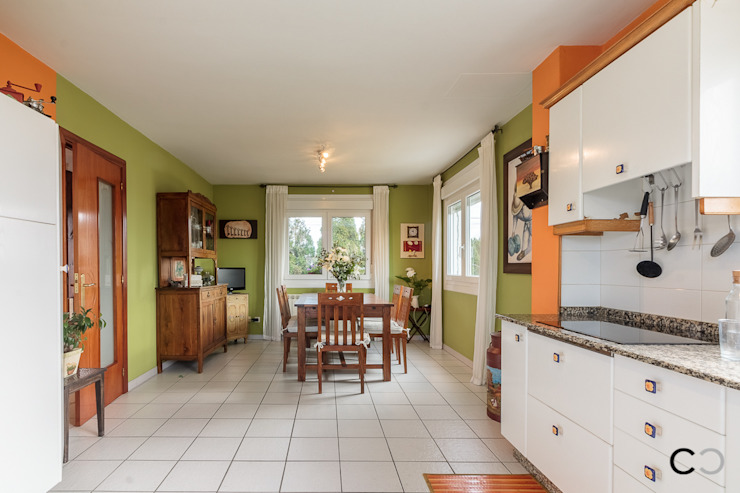 Kitchen by CCVO Design and Staging,