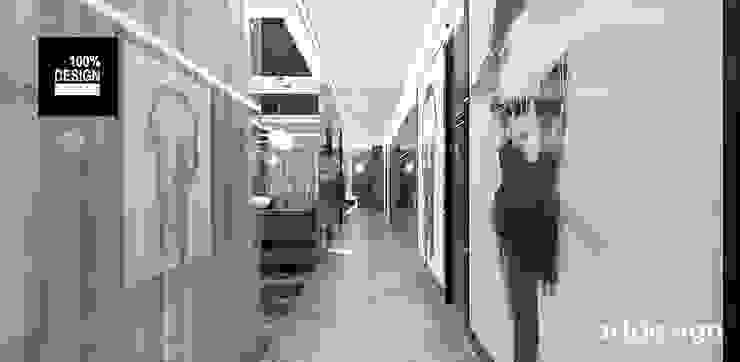 TAKE THE PLUNGE! | II | Wnętrza rezydencji ARTDESIGN architektura wnętrz Nowoczesny korytarz, przedpokój i schody