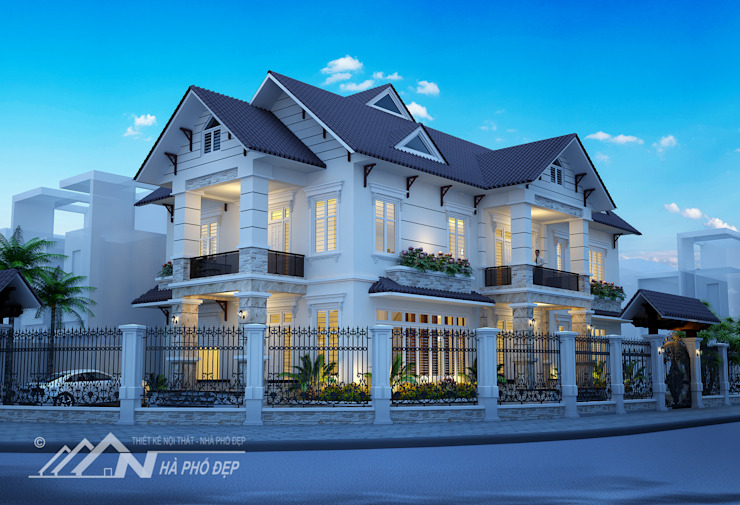Biệt Thự bởi nội thất nhà phố đẹp Hiện đại