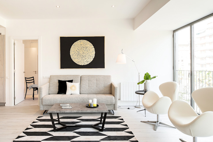 Salón Salones de estilo moderno de Markham Stagers Moderno
