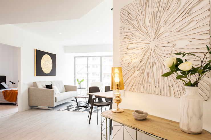 Ingresso & Corridoio in stile  di Markham Stagers