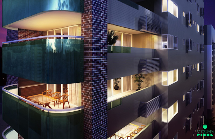 Scandinavian style houses by Dayane Medeiro Arquitetura e Interiores Scandinavian