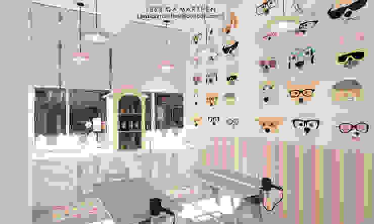 JESSICA DESIGN STUDIO Spa de estilo escandinavo