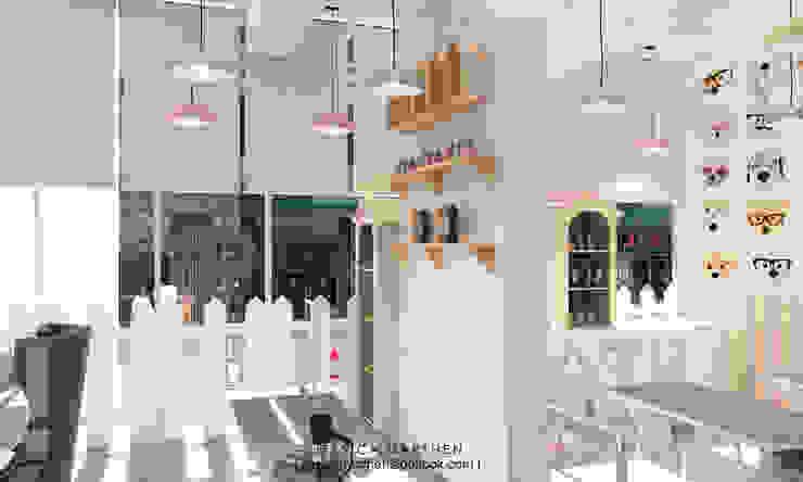 Cloudy & Cotton Pet Grooming & Coffee Shop, Lippo Mall Puri by JESSICA DESIGN STUDIO Scandinavian