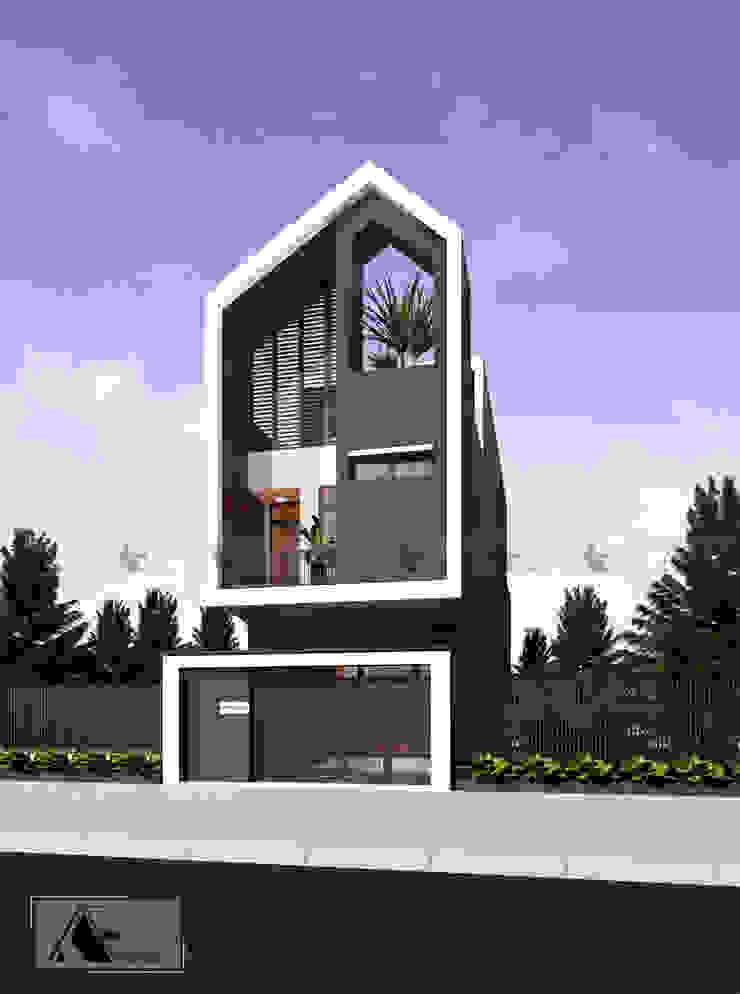 M house bởi AE STUDIO DESIGN Hiện đại