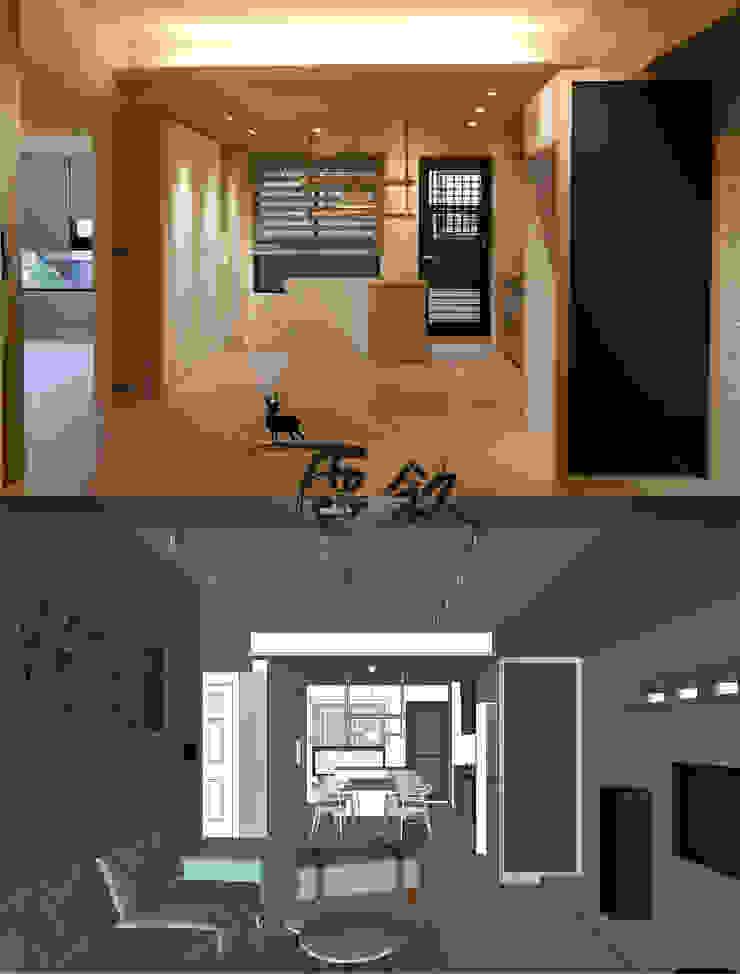 住宅|24坪北歐輕裝簡約宅-高雄左營 根據 鹿敘空間設計