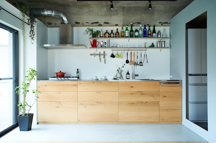 Kitchen by .8 / TENHACHI, Eclectic