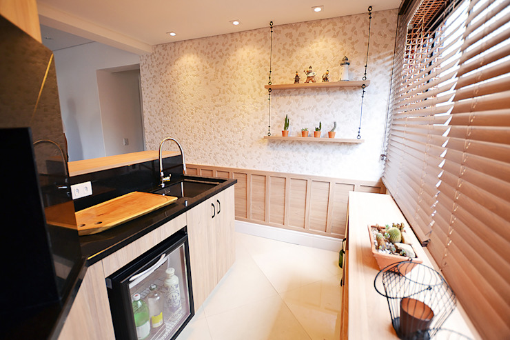 Kitchen units by Ana Sekulic Arquitetura, Rustic MDF