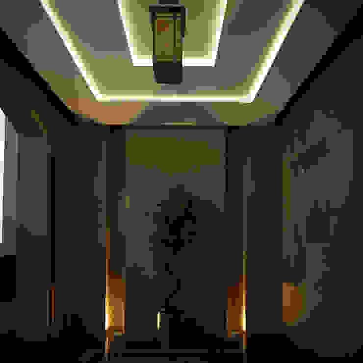 Spaces Levels Studio Koridor & Tangga Gaya Eklektik