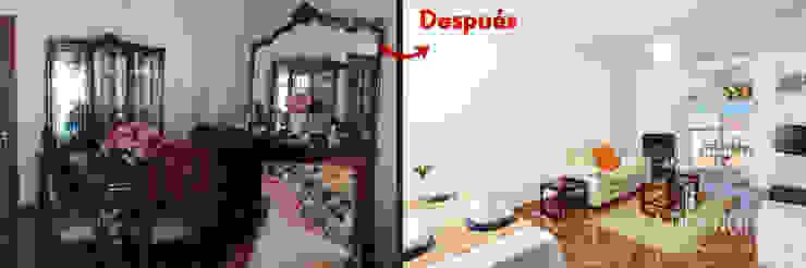 Salón comedor La Diseñoteca Home Staging & Interiors